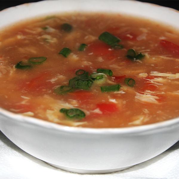 supa de rosii cu ou